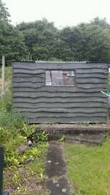 Wooden shed 10 x 6