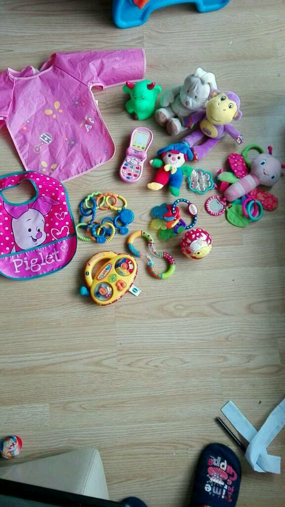 Items for babies teething and feeding bundle