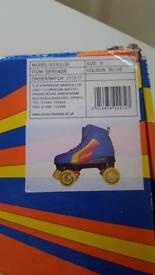 retro roller blades size 3