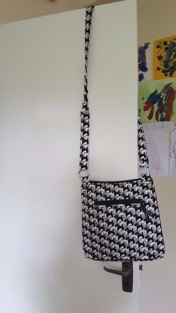 Vera Bradley Scottie Dogs Shoulder Messenger Style Bag