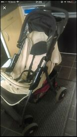 Hauck Shopper 3-1 pushchair