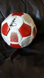 Arsenal signed ball