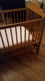 A nice sturdy mamas and papas cot