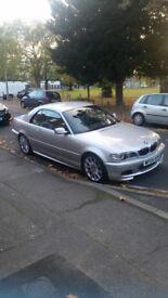 BMW 325CI SERIES M SPORT CONVERTIBLE 2004