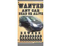 cars vans bike anything scrap top cash paid ££££