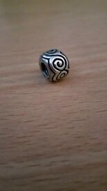 Genuine / Authentic / Real Pandora Swirl Charm