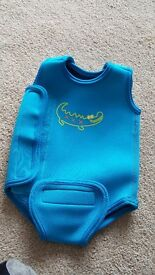 Baby swim vest wetsuit