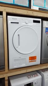 New graded hotpoint tumble dryer 8kg condenser for sale in coventry 12 month warrenty