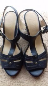 M&S wedge sandals 3.5