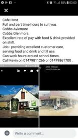 Cafe Staff /Supervisor role
