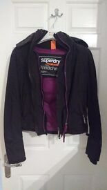 Never been worn Superdry Hooded Jacket