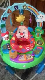 Jumperoo fisherprice laugh and learn