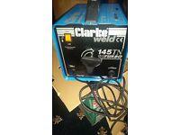 Clarke Arc welder 145 TN Turbo. Welding