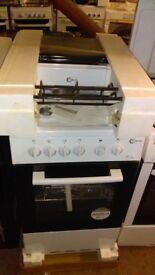 FLAVEL 50cm FHLG51W Gas Cooker - White Ex Display
