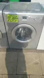 BEKO 7KG LOAD 1600 SPIN WASHING MACHINE IN SILVER