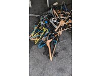 Free hangers to collect