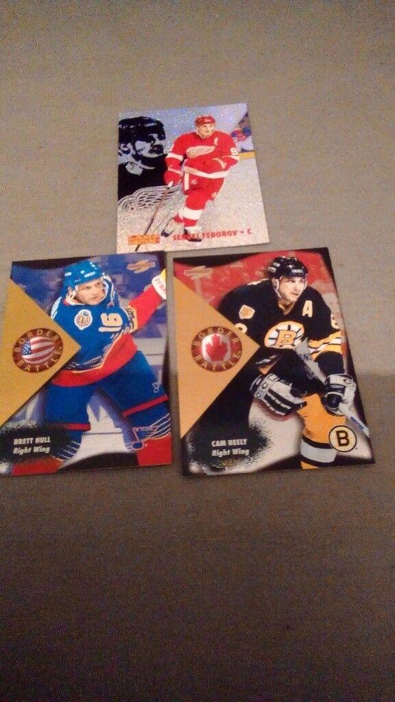 3 SPECIAL EDITION NHL HOCKEY CARDS