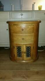 Solid wood unit