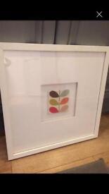 Orla Kiely box frame picture