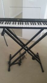 Casio CTK240 keyboard and stand