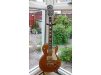 CORT CLASSIC ROCK CR200 GOLDTOP L/P NEW ELECTRIC GUITAR WITH CASE