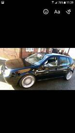VW golf 1.8 GTI turbo no swaps
