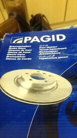 Brand new Pagid and textar brake pads and discs for bmw 1 series and 3 series