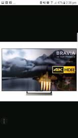"SONY TV 65"" 4k UHDR brand new"
