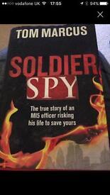 Soildier spy hard back book
