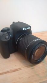 Canon EOS 700d with EFS 18-55mm lens