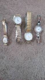 Collection of 4 beautiful ladies watches