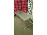 Glass sturdy desk for £35