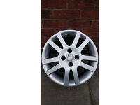"""15"""" 4x100 4x alloys with 2 tyres"""