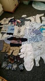 46 item newborn Baby Boy bundle