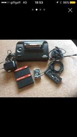 Sega master system with 2 games plus Alex the kidd built in