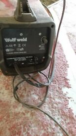 Wolf welder /service 160 car baterry charger