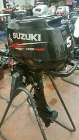 Suzuki DF5 Short shaft 2015 outboard with warranty brand new