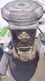 ANTIQUE VICTORIAN PORTWAY NO 2 TORTOISE STOVE LOG WOOD BURNER CAST IRON WITH STAND