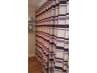 Beautiful 'as new' heavy weight custom made curtains 90x90, 2 sets available, excellent quality++
