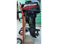 Mercury 15 hp 2 stroke Outboard Motor