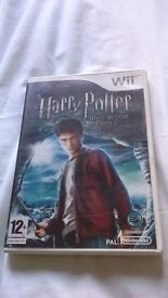 Nintendo wii game. Harry potter and half blood prince