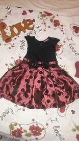 2 Beautiful girl dresses for 2-3years
