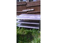 Stainless steel tables 1700 long 600 wide 850 high