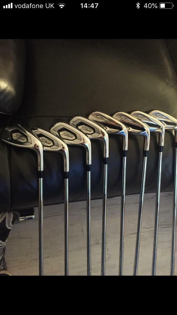 Mint Titleist 8xIrons 718 Ap1 & AP3 mix set Stiff | in Cwmavon, Neath Port  Talbot | Gumtree