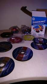 Cutting & grinding disc pack