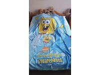 Spongebob squarepants duvet set