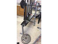 York Weights Bench press - gym - no weights