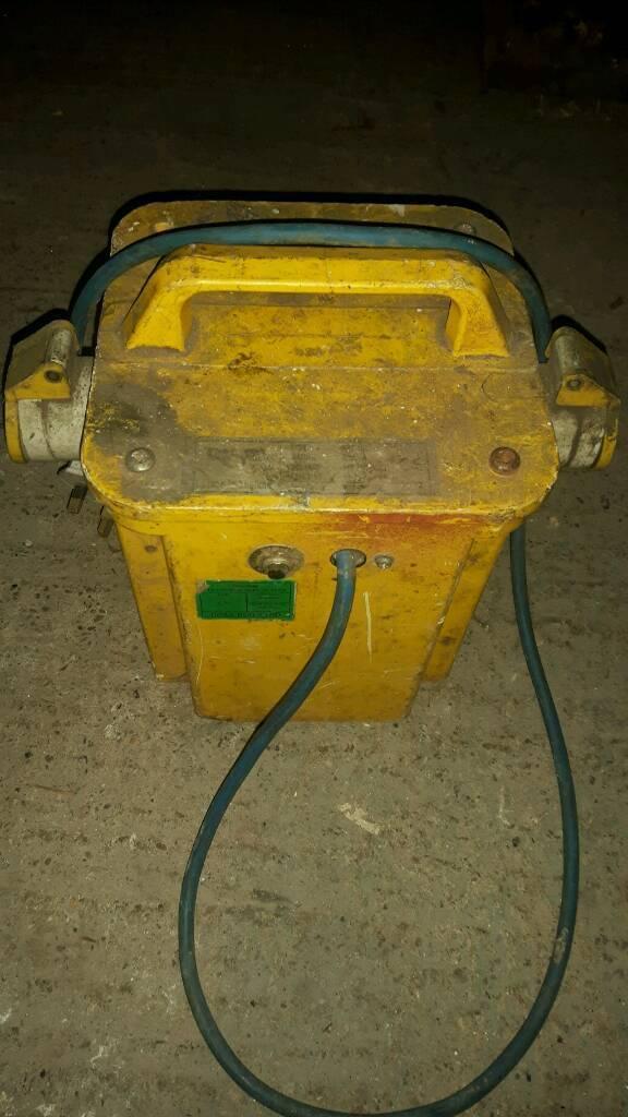110 volt transformer /drop down box reduced