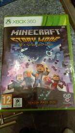 Minecraft story mode Xbox 360 New