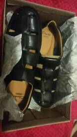 Clarkes Mens Shoes Brand New